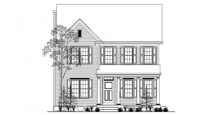 A-Oakmont-Front-Elevation