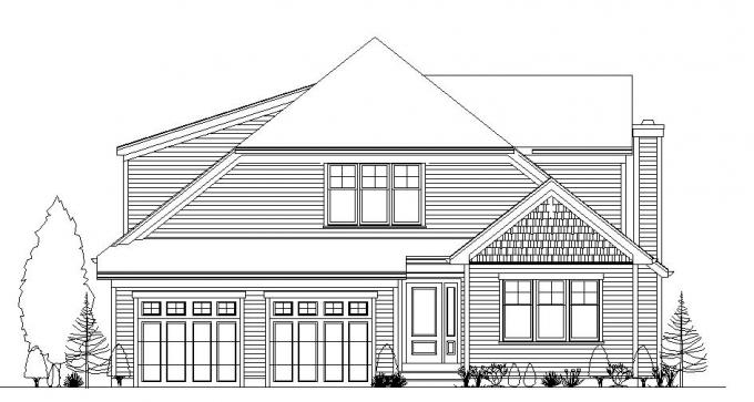 B-Cypress-Front-Elevation