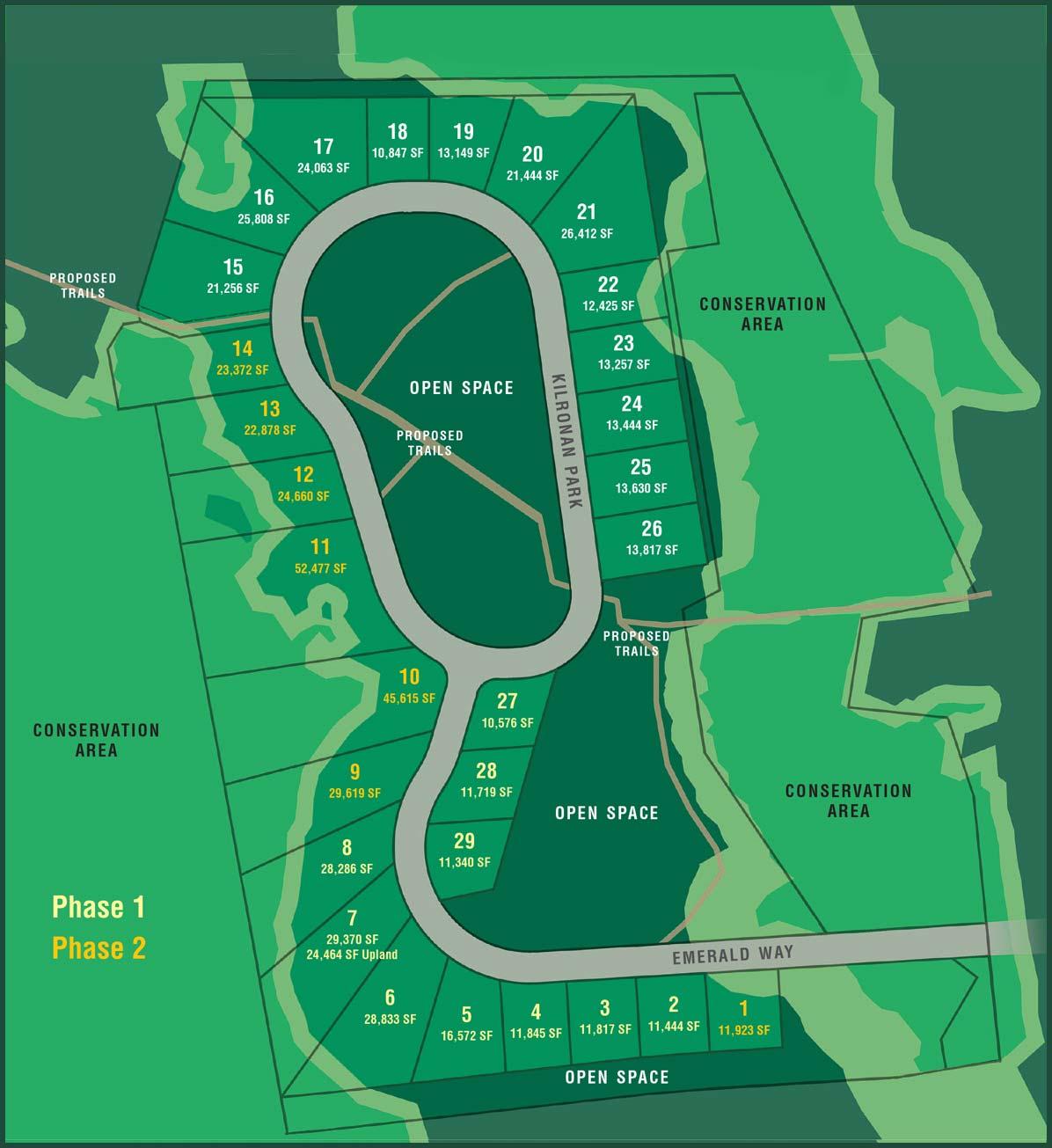 Roscommon site plan