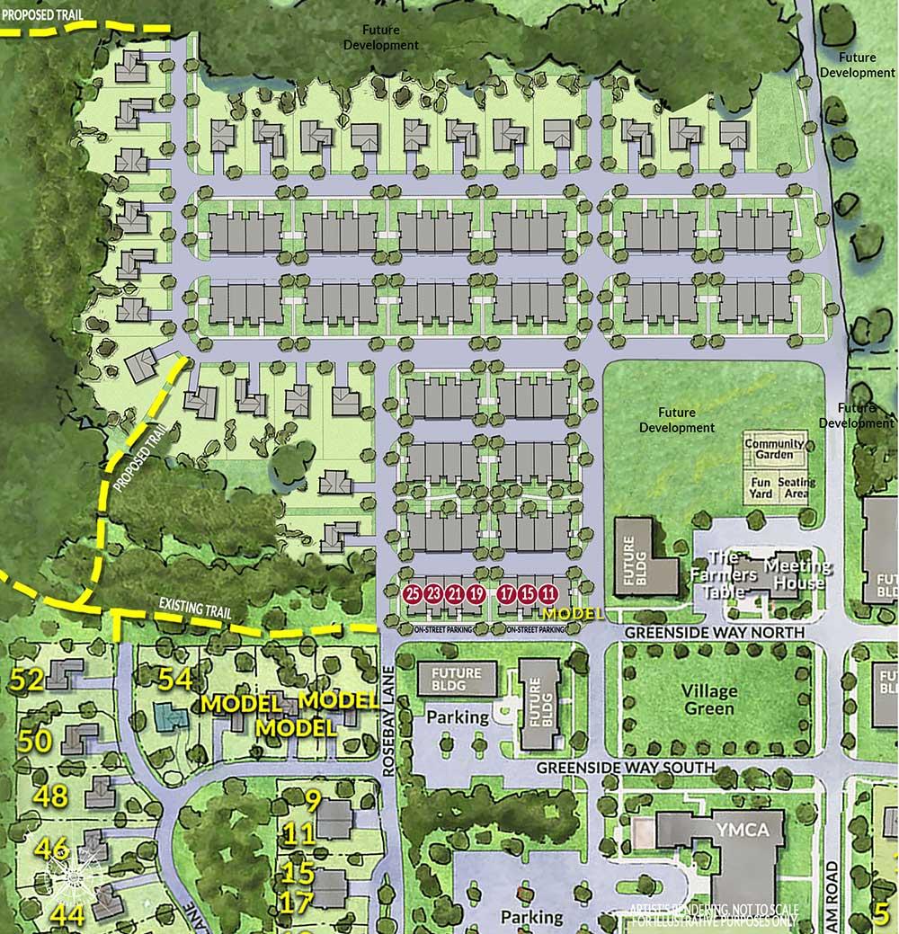 Redbrook site plan
