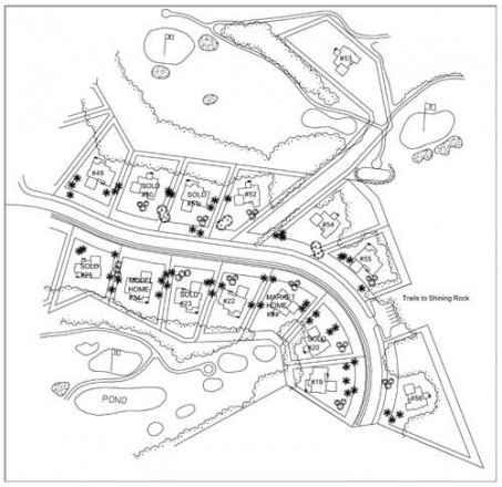 shining rock site plan