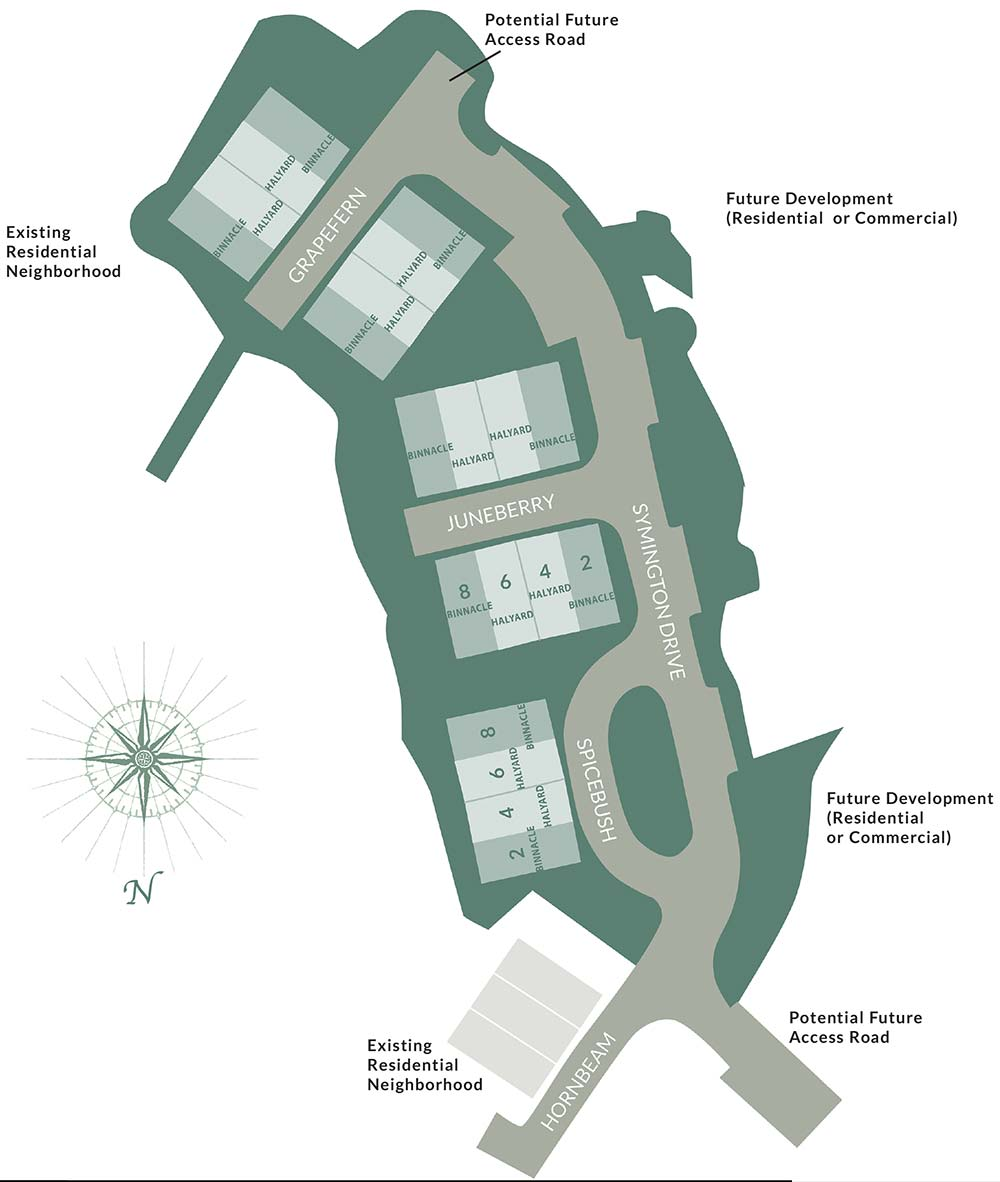Symington Woods site plan
