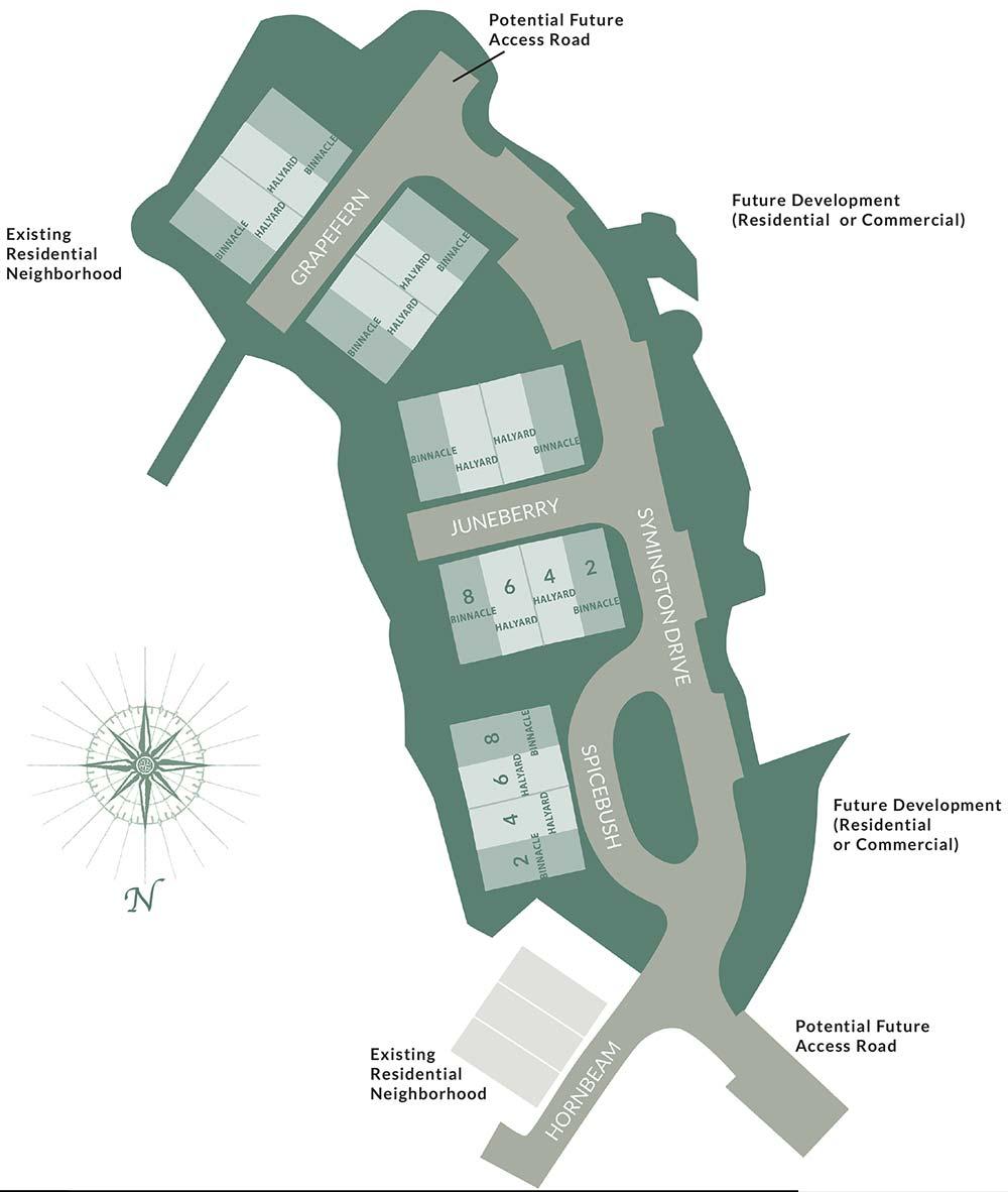 Symington Woods site plan
